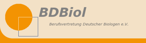 BDBiol - Verband Deutscher Biologen e.V.